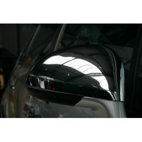Citroen C4 chromuoti veidrodėlių gaubtai.