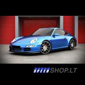 Porsche 911 Typ 997 priekinio bamperio pažeminimas