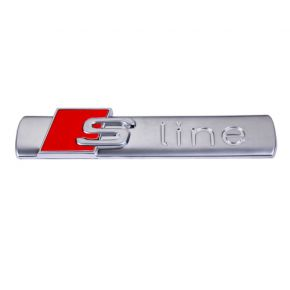 S-line silver emblema
