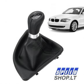 BMW 1 (E87 E81 E82 E88) pavarų svirtis
