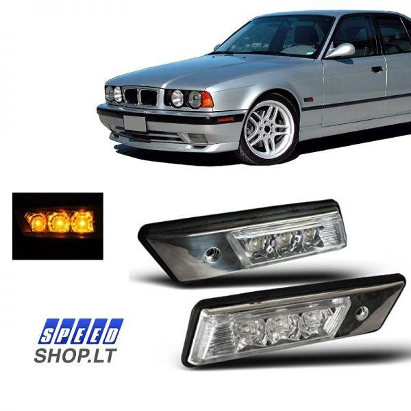 BMW 3-5-7 (E30-E36-E34-E32) sparno posūkiai LED