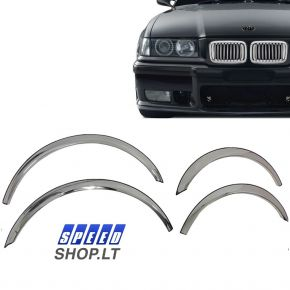 BMW 3 (E36) Chromuota arkų apdaila