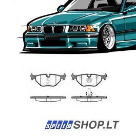 BMW 3 (E36) galinės stabdžių kaladėlės