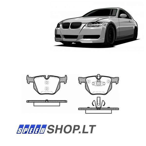 BMW 3 (E90-E91-E2-E93) galinės stabdžių kaladėlės