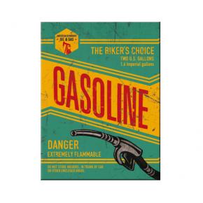 Gasoline šaldytuvo magnetukas