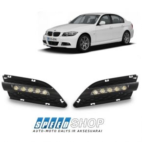 BMW 3 (E90 E91) LCI Led žibintai