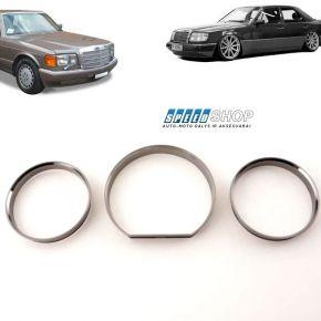 Mercedes-benz W124, W126 spidometro žiedai