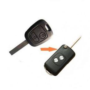 Peugeot užvedimo raktas