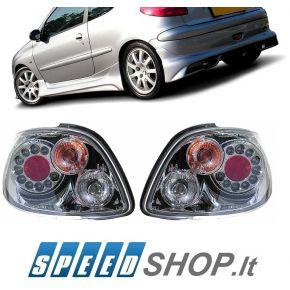 Peugeot 206 galiniai LED žibintai