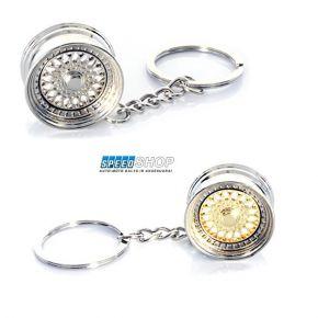 BBS ratlankio stiliaus raktų pakabukas