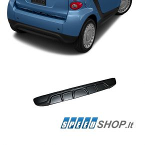 Smart For Two 451 galinio bamperio Tuning difuzorius