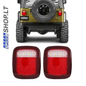 Universalūs galiniai LED žibintai Eco