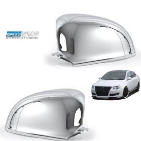 Passat B6 chrominiai veidrodėlių dangteliai